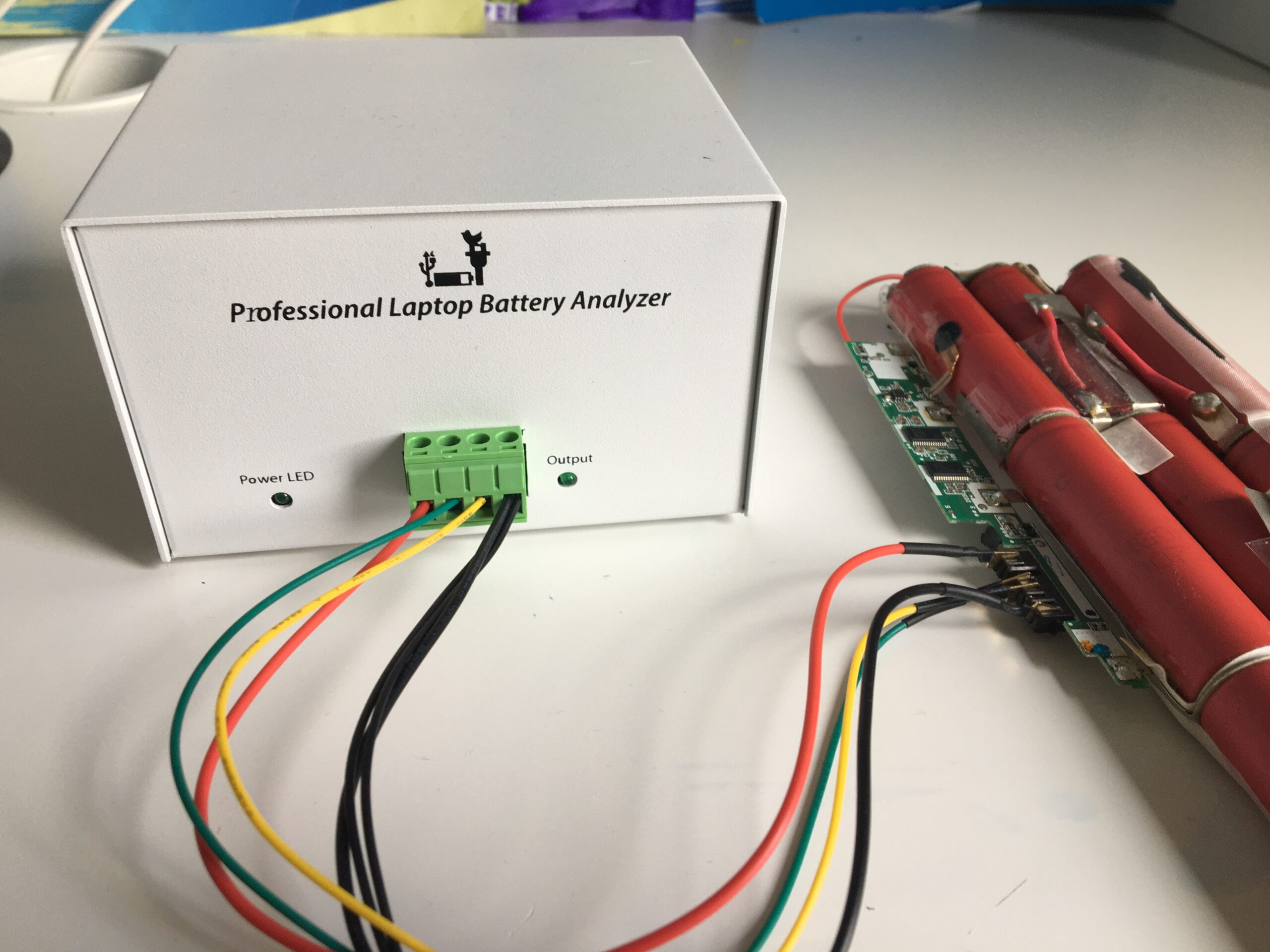 How to repair laptop battery using NLBA1 device